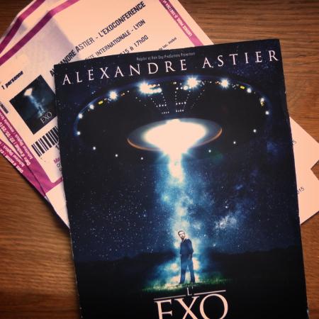 Dernier spectacle d'Alexandre Astier