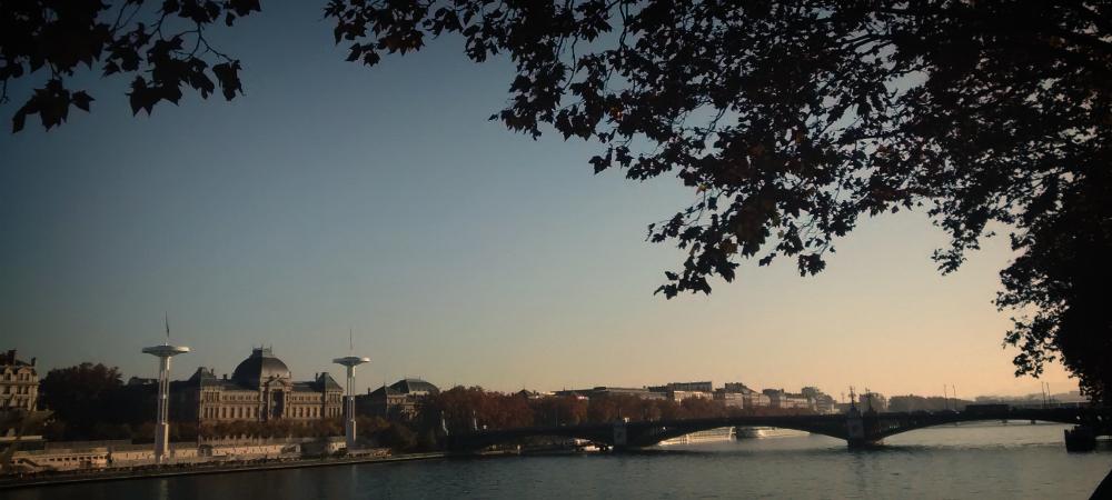 Pont de l'Université Lyon