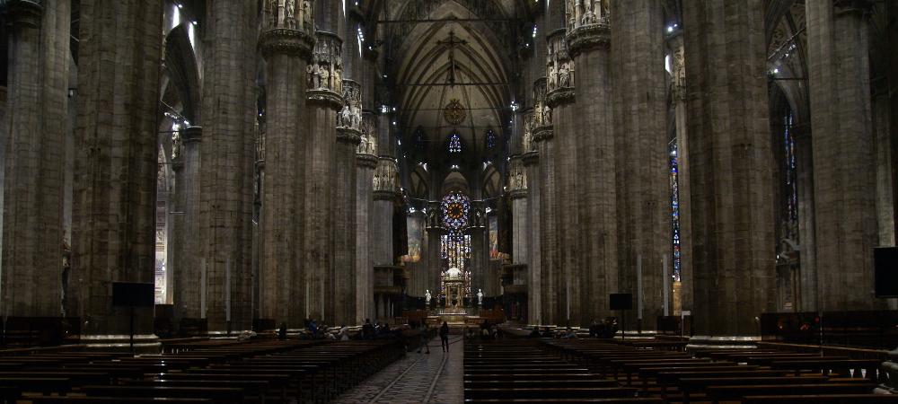 Intérieur du Duomo - Milan