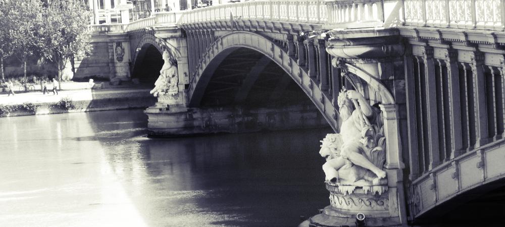 pont Lafayette Lyon Rhône Saône