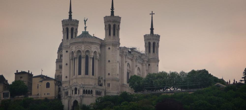 Lyon Basilique Histoire Fourvière