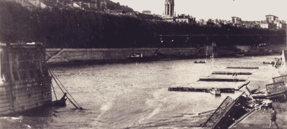 Pont Lyon Seconde Guerre mondiale
