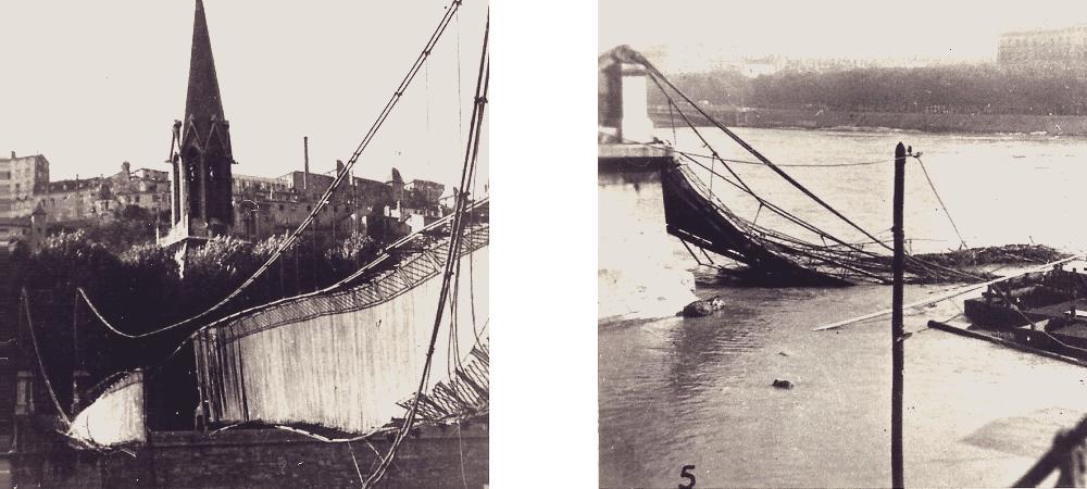 Lyon pont seconde guerre mondiale