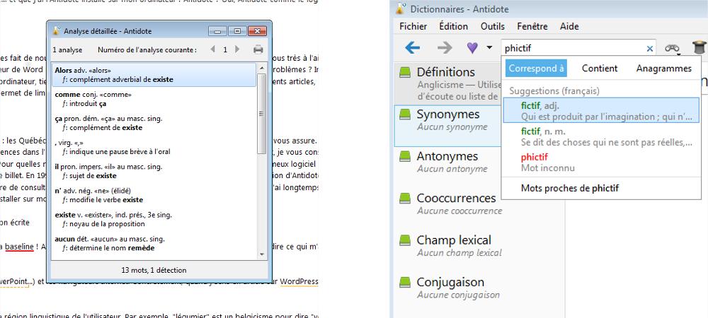 antidote orthographe logiciel