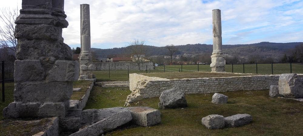 patrimoine gallo romain archéologie izernore
