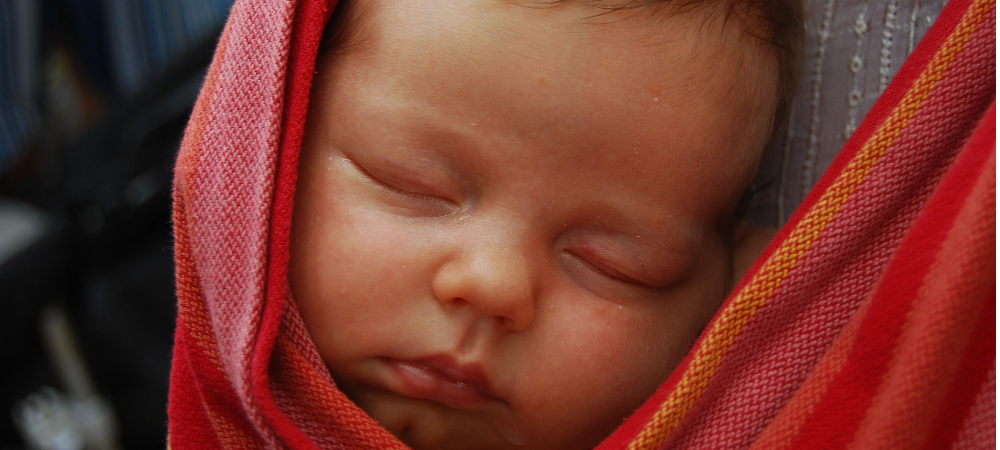 portage bébé sling écharpe
