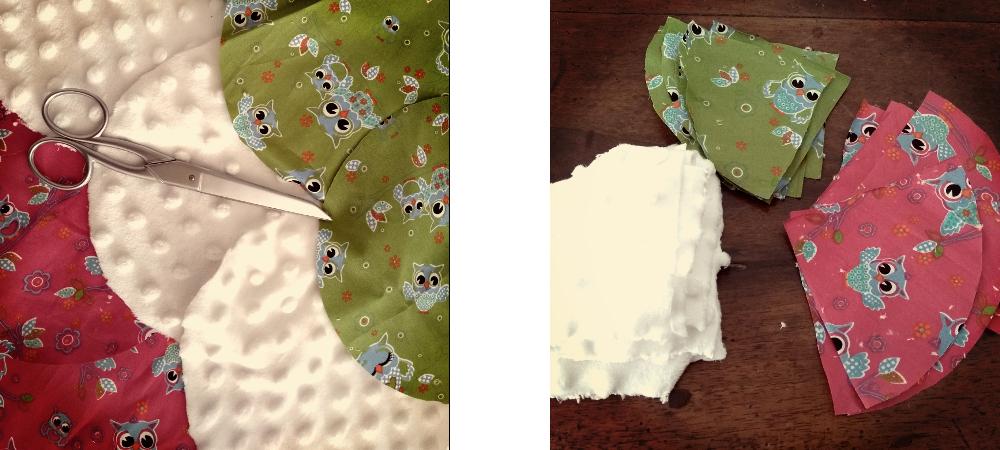 balle de préhension montessori couture bébé