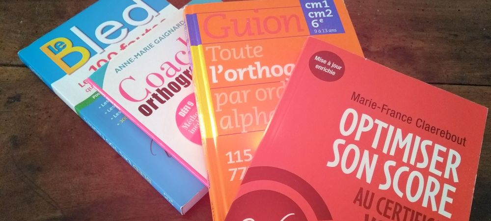 livres orthographe