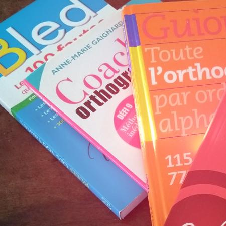4 livres top pour améliorer votre orthographe
