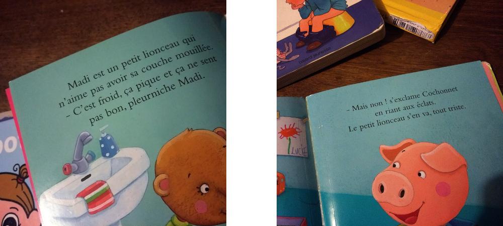 pot littérature enfantine enfant propreté