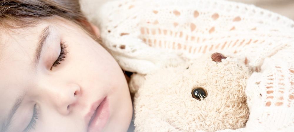peluche sommeil enfant
