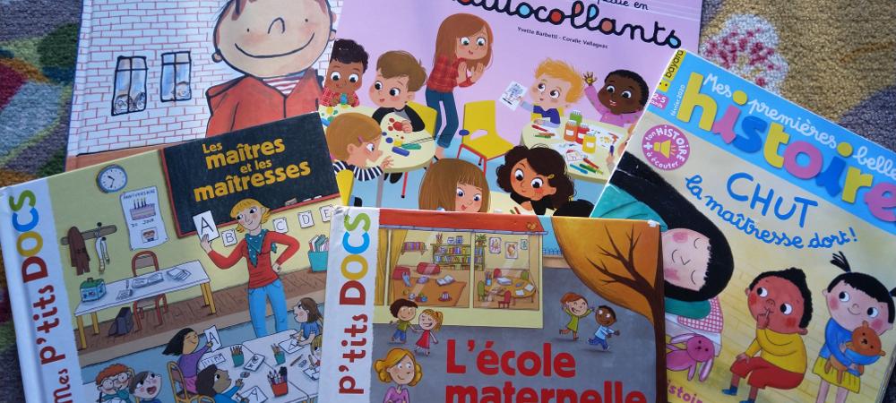 livre école maternelle