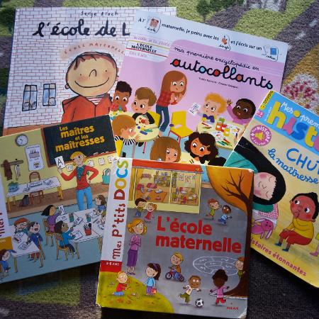 Le top 5 des livres pour l'école maternelle