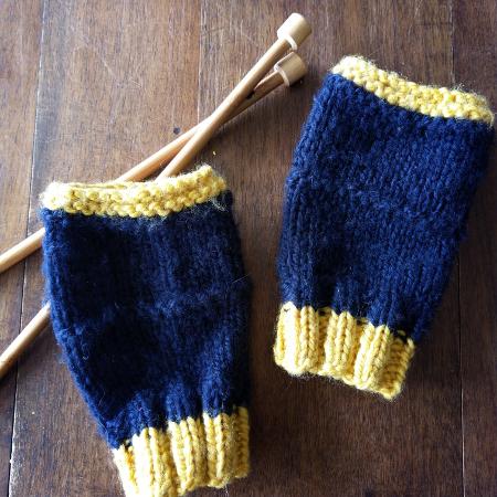 Comment tricoter des mitaines ?