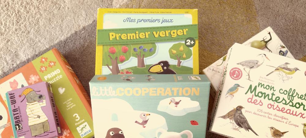 choisir un jeu pour un enfant de 3 ans